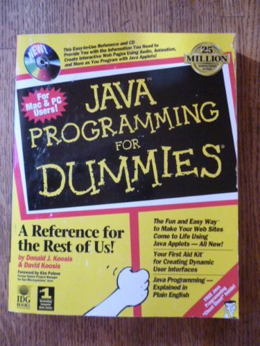 java programming for dummies pdf