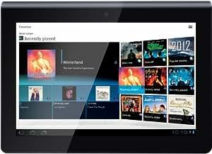 Sony SGPT111DE/S.G4- Tablet S 23,8 cm (9,4 pulgadas), (NVIDIA Tegra2, 1 GHz, 1 GB de RAM, SSD de 16 GB, Android 3.1, Wi-Fi, Bluetooth), negro / plata (importado)
