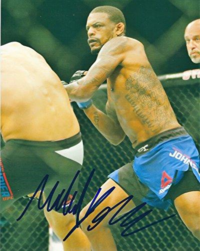 Autographed Michael Johnson UFC & MMA 8x10 photo with COA
