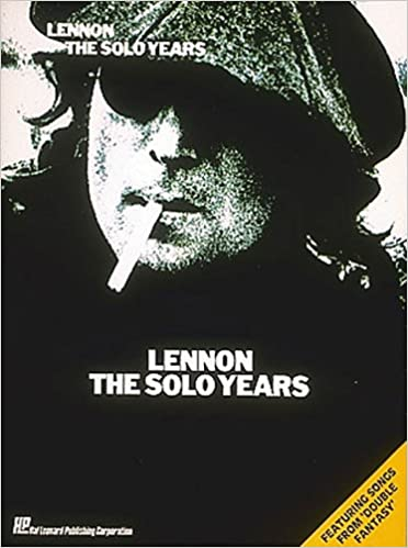 Lennon The Solo Years Pianovocalguitar Artist Songbook John