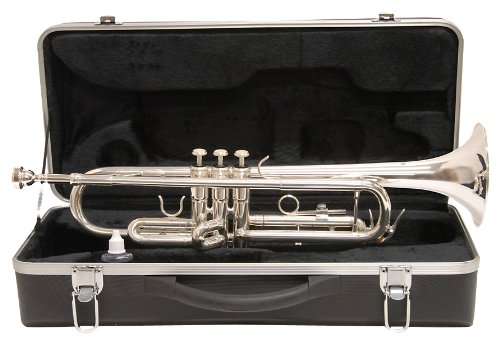International Outfits - Windsor LSTO Trumpet Outfit, Silver