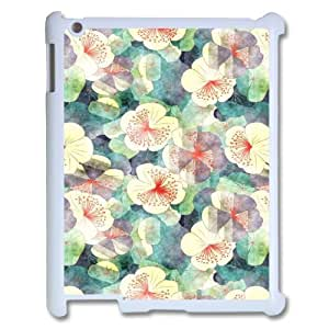 Retro Floral Flower ZLB536889 Personalized Phone Case for Ipad 2,3,4, Ipad 2,3,4 Case
