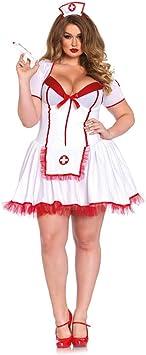 Horror-Shop Sexy Enfermera Más Disfraz De Tamaño 3X/4X ...