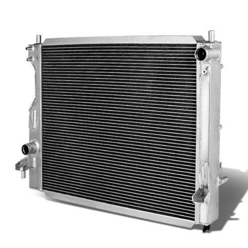 For Ford Mustang Full Aluminum 3-Row Racing Radiator - 5 Gen Manual MT only