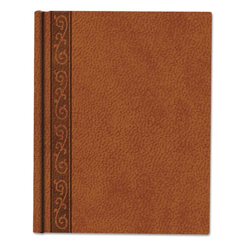 Blueline Products - Blueline - DaVinci Notebook, College Rule, 9-1/4 x 7-1/4, Cream, 75 Sheets/Pad - Sold As 1 Each - Embossed hardbound cover. -