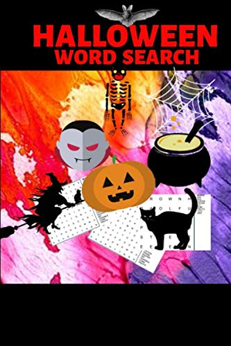 Halloween Activity Ideas For The Office (Halloween Word Search: Halloween Gift| Word Search Puzzle Book| Halloween Gift For Teens, College Students, Coworkers and Office Employees (Gag)