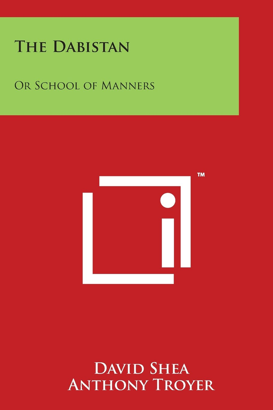 Read Online The Dabistan: Or School of Manners ebook