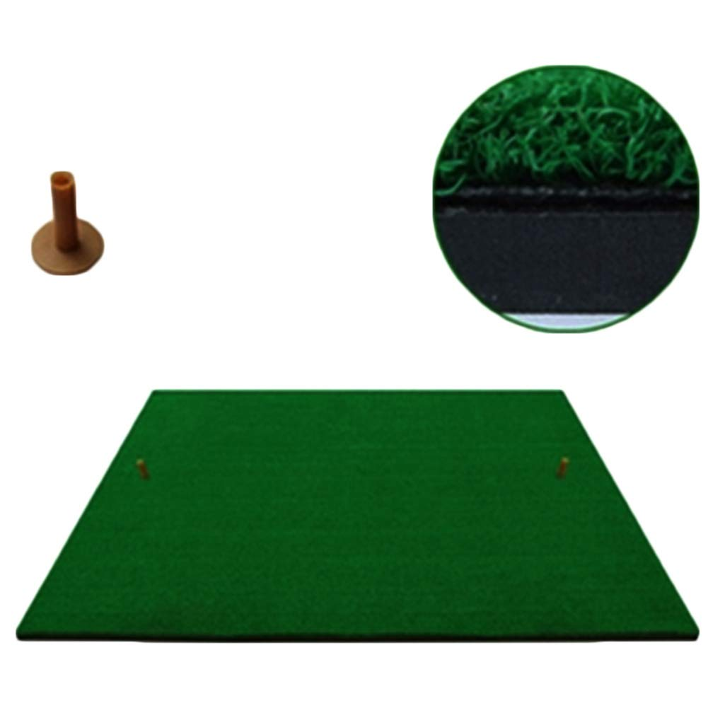 WENZHE ゴルフマット パターマット 練習器具 ネット ポータブル パッド 個人 スイング エクササイザ、 2つのスタイル、 1.25x1.25m  A-normal style B07LB2RRXH