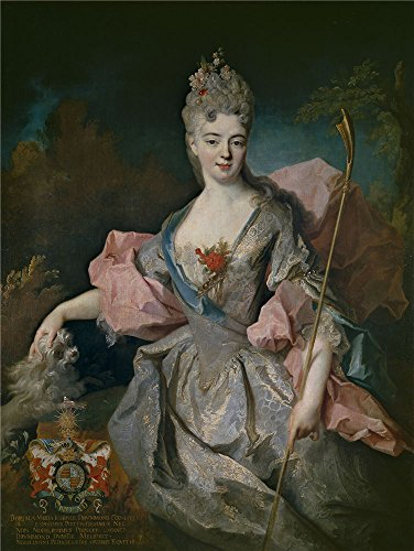 'Oudry Jean Baptiste Lady Mary Josephine Drummond Condesa De Castelblanco Ca. 1716 ' Oil Painting, 8 X 11 Inch / 20 X 27 Cm ,printed On Perfect Effect Canvas ,this High Resolution Art Decorative Canvas Prints Is Perfectly Suitalbe For Kitchen Decoration And Home Artwork And Gifts