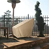 Patio Armor SF46612 Ripstop Extra Large Patio Cover, XL Chair, Taupe