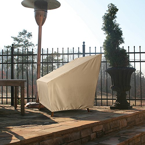 Patio Armor SF46612 Ripstop Extra Large Patio Cover, XL Chair, Taupe by Patio Armor