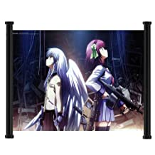 Angel Beats Anime Fabric Wall Scroll Poster (24x16) Inches