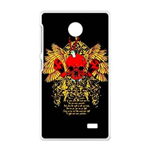 Gold Skull Hot Seller High Quality Case Cove For NOKIA X