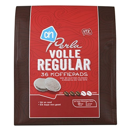 perla-regular-koffiepads-gemalen-koffie-perla-regular-grounded-coffee-pads-882oz-pack-of-6-by-albert