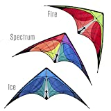Prism Nexus Dual-line Stunt Kite, Yellow