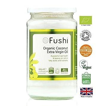 Amazon com : Fushi Organic Extra Virgin Coconut Oil - 480ml