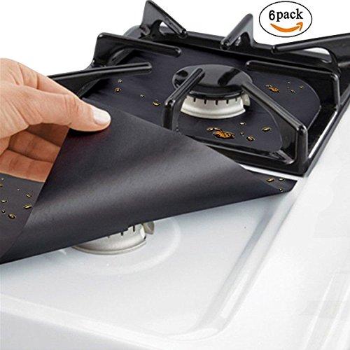 double drip pans gas range - 6