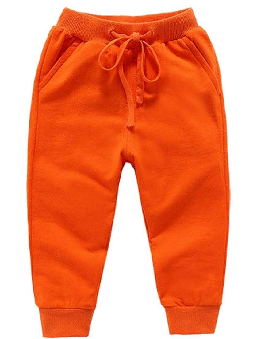 Sweatwater Boys//Girls Trousers Drawstring Super Soft Sweatpants Casual Pants
