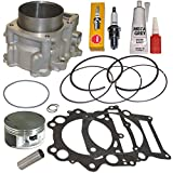 660cc STANDARD BORE CYLINDER PISTON GASKET KIT SET FITS 2001-2005 YAMAHA RAPTOR 660