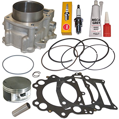 Engine Standard Yamaha (660cc STANDARD BORE CYLINDER PISTON GASKET KIT SET FITS 2004-2007 YAMAHA RHINO 660)