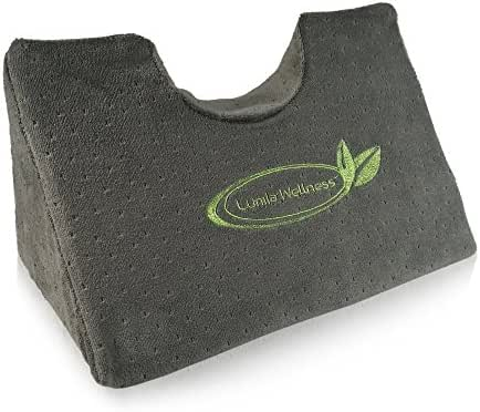 Cervical Traction Chiropractic Wedge Pillow - Neck and Shoulder Pain Relief - w/Removeable & Rewashable Cover