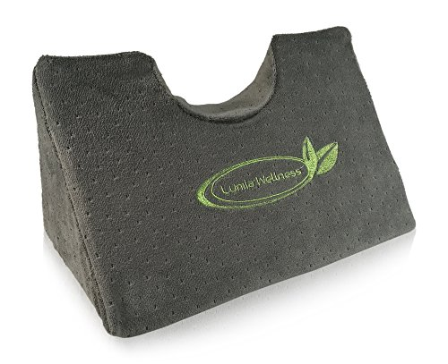 Cervical Traction Chiropractic Wedge Pillow - Neck and Shoulder Pain Relief - Gentle Spinal Correction (Best Cure For Stiff Neck)