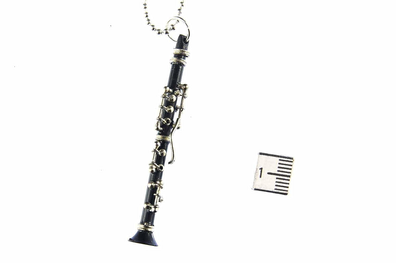 Miniblings Collar de Cadena Clarinet clarinetista 80cm ...