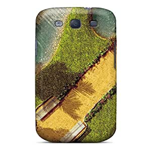 YLDul10545cKDdr Snap On Case Cover Skin For Galaxy S3(the Grass Guitar)