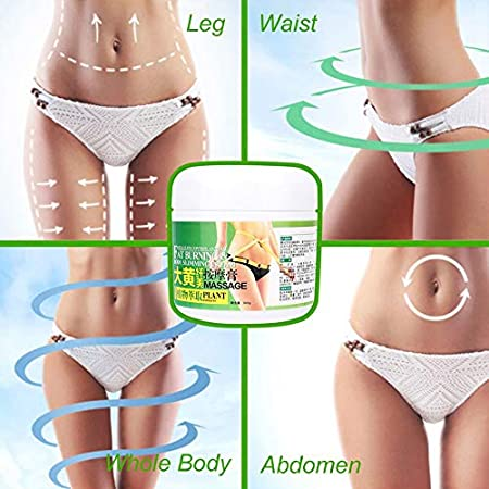 Crema delgada, Extrema delgada para adelgazar y reafirmante Crema de grasa corporal Masaje Gel para perder peso Tratamiento con suero caliente para moldear la cintura, el abdomen y las nalgas