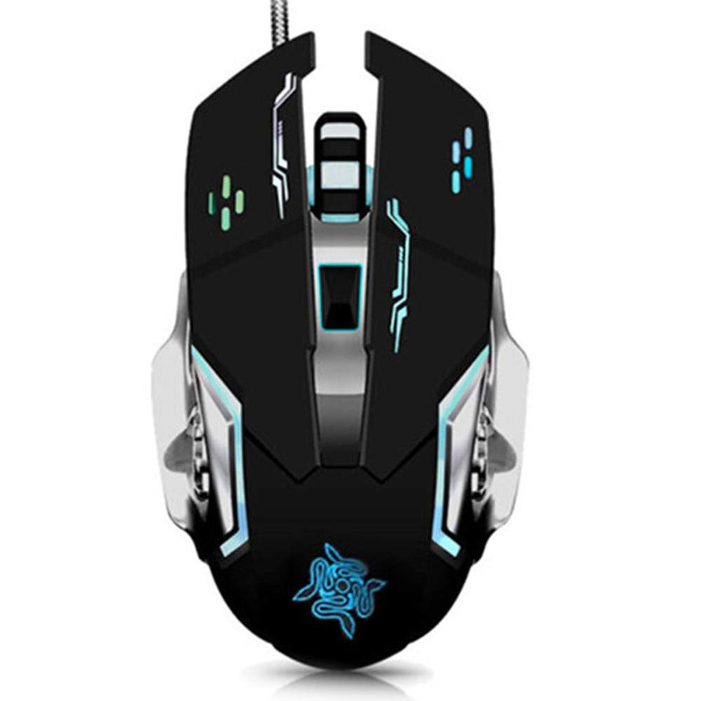 cable mouse competition LOL mechanical game Thunder wolf V6 herdsman DOTA computer Internet cafe USB mouse