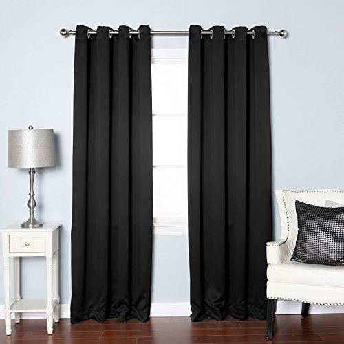 Blackout Curtains blackout curtains 90×90 : Blackout curtains eyelet 90x90 - StoreIadore