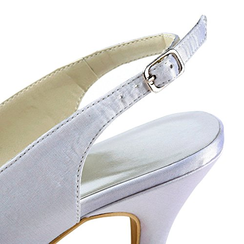 Minitoo , Escarpins pour femme - blanc - White-7cm Heel, 38