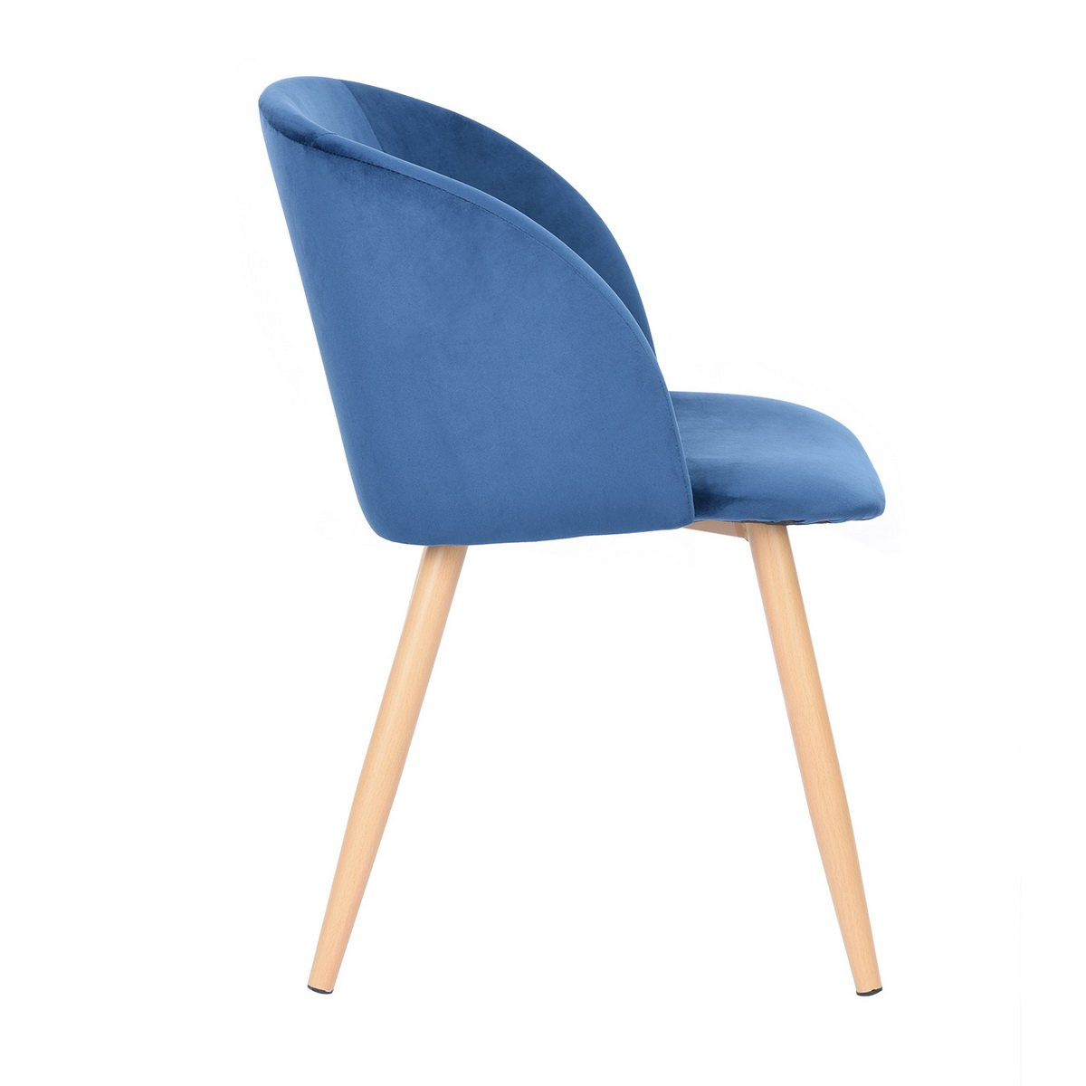 fauteuil lounge en tissu velours fauteuil rembourr pour salle manger salle ebay. Black Bedroom Furniture Sets. Home Design Ideas