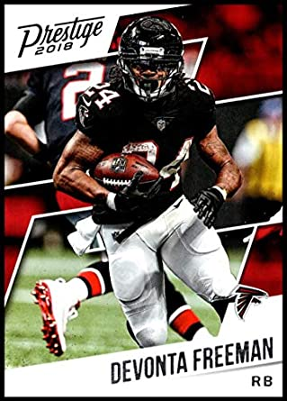 newest collection efa12 e49ae Amazon.com: 2018 Prestige NFL #169 Devonta Freeman Atlanta ...
