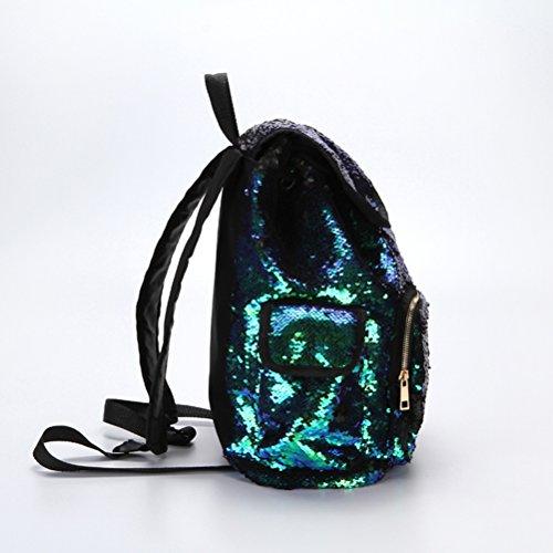 Borsa scintillanti Spangles Paillettes Zaino Colore LUOEM Glitter tracolla Glitter Paillettes Paillettes Zaini qvRg1aUx