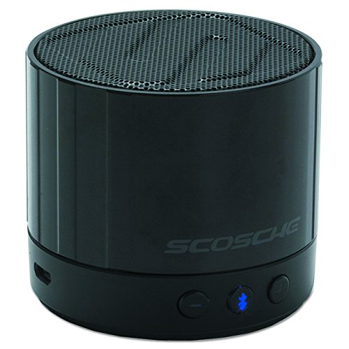 Scosche BTSPK3BK boomSTREAM mini, Black