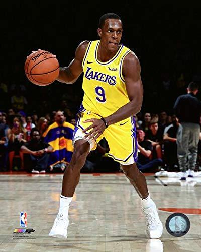 (Rajon Rondo Los Angeles Lakers NBA Action Photo (Size: 8