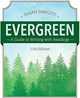 amazon com evergreen a guide to writing with readings basic rh amazon com St. Martin's Guide to Writing Guide to Writing Fan Fiction