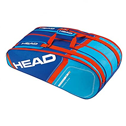 add6ede2e35d HEAD Core 9R Supercombi Tennis Kit Bag (Blue)