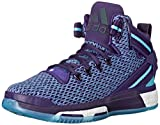 Adidas Performance D Rose 6 Boost J Shoe (Big Kid),Dark Purple/Blast Purple/Blue,5.5 M US Big Kid