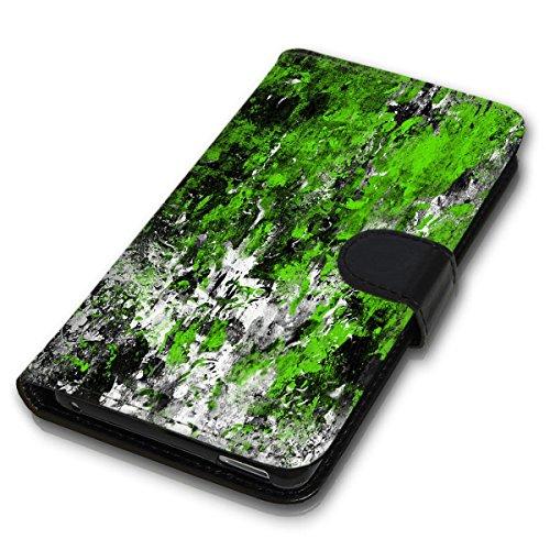 Wallet Book Style Flip Handy Tasche Case Schutz Hülle Schale Motiv Etui für Apple iPhone 6 Plus / 6S Plus - Design Flip MVD45