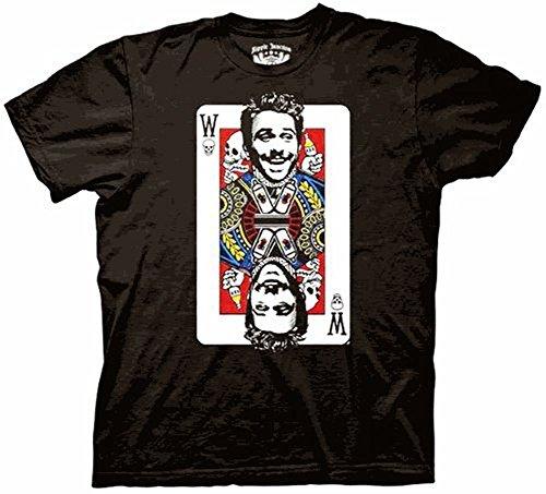 It's Always Sunny In Philadelphia Charlie Wildcard Black T-shirt Tee, Large
