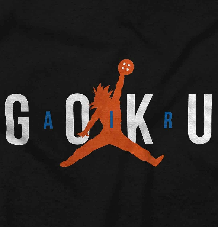 Air Goku Funny Basketball Anime Sports Nerd Kids Long Sleeve T