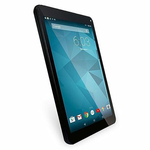 """It UK 10.1"""" Quad Core, Google Android Lollipop Tablet PC (16GB HDD, 1GB RAM, HDMI, WIFI, Bluetooth, OTG, Octa Core GPU) - Black"""