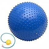 65cm Thickening Explosion-proof Fitness Exercise Yoga Ball Blue 24000687