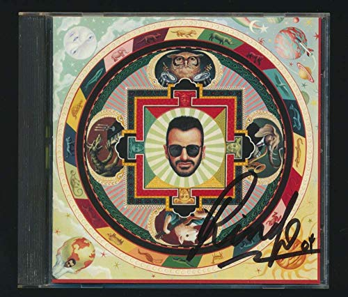 Ringo Starr Signed Autographed Beatles Cd Booklet Beckett BAS