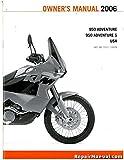 3211128 2006 KTM 950 Adventure Motorcycle Owners Manual