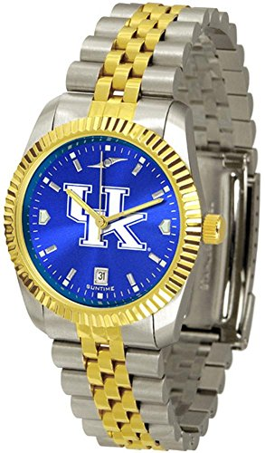 Kentucky Wildcats UK Men's Stainless Steel Alumni Dress (Wildcats Mens Watch)