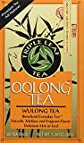 Triple Leaf Tea - Oolong Tea Bags, Wulong Tea, Semi-Oxidized, 20 Tea Bags