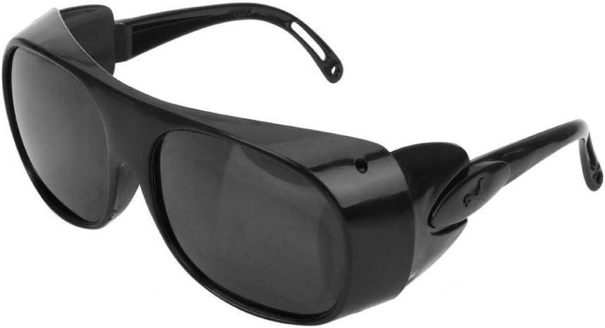 MZY1188 Occhiali di Saldatura protettivi Anti-Impatto Trasparenti 2 Pezzi Occhiali di Sicurezza per Saldatura di Fabbrica Occhiali da Equitazione Occhiali di Sicurezza Anti-Impatto per Gli Occhi